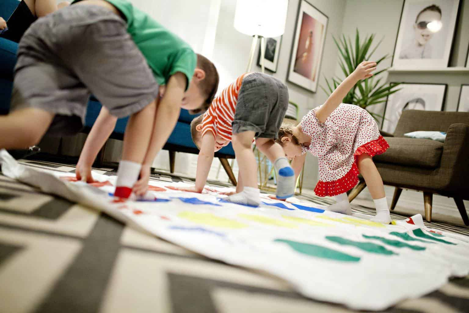 Homeschooling busy kids is like playing perpetual twister