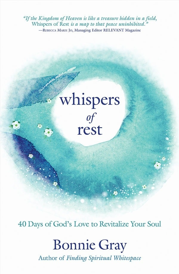 Whispers of Rest Devotional by Bonnie Gray