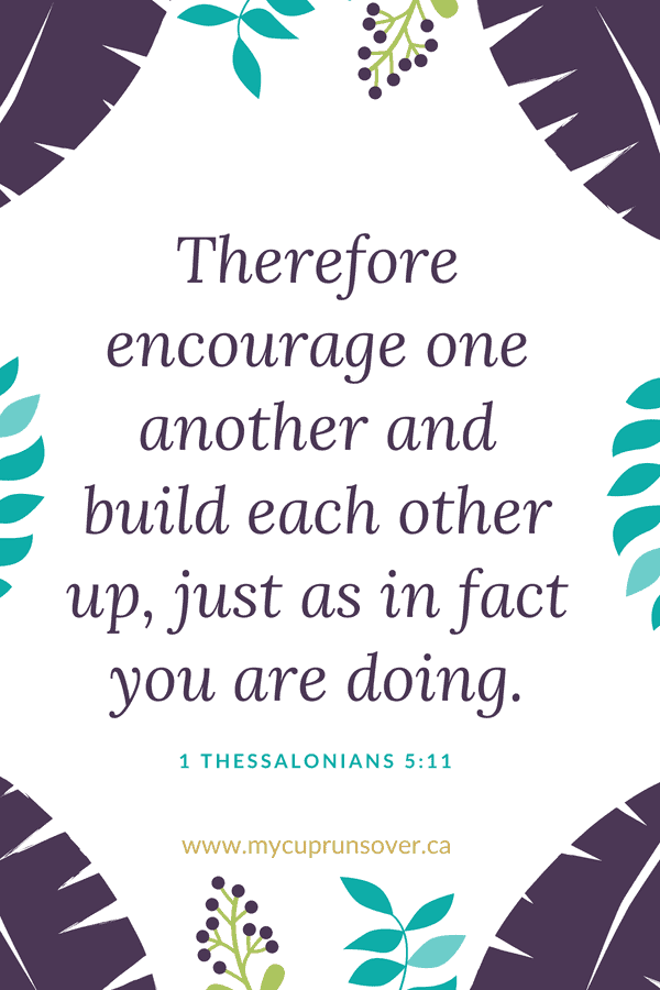 1 Thessalonians 5:11