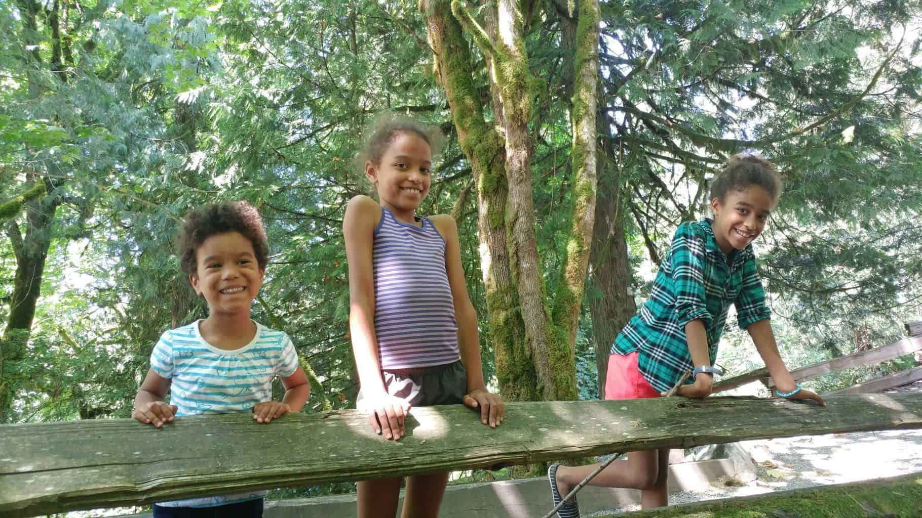 Spending time as a family at summer family camp