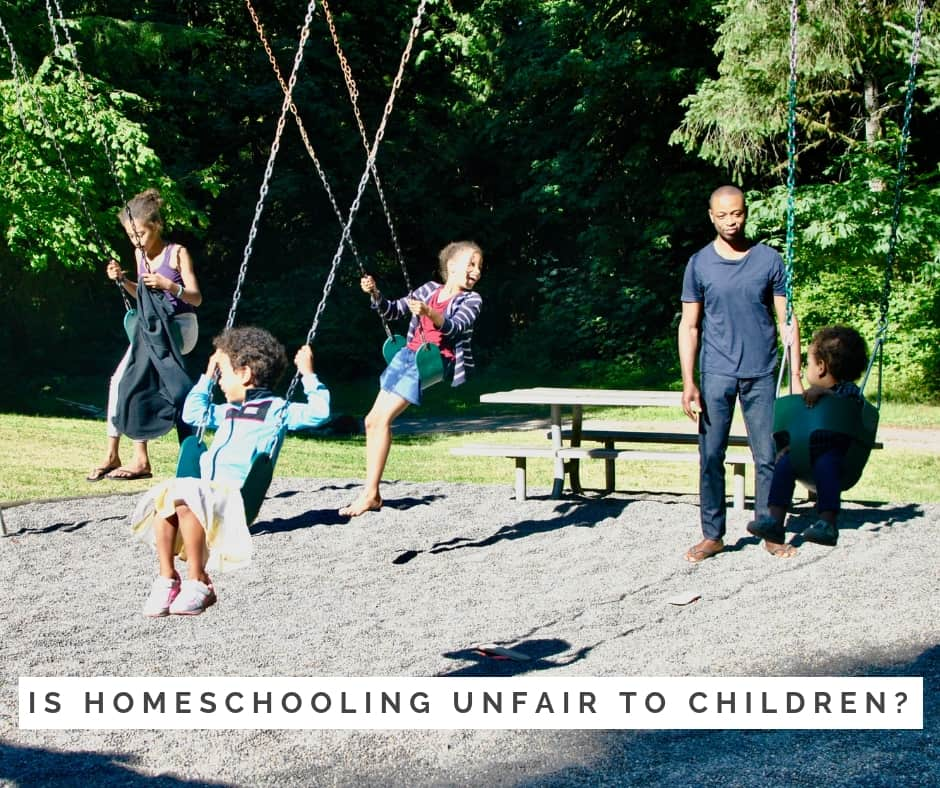 Is homeschooling unfair to children?