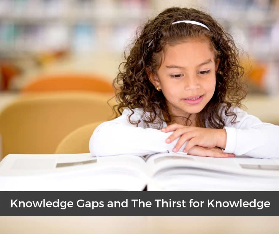 Knowledge gaps and the thirst for knowledge in homeschooling