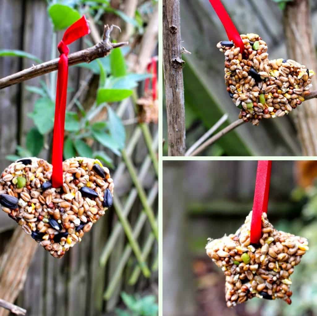 DIY Christmas Gifts: birdfeeders