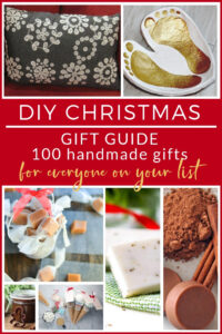 DIY Gifts A DIY Christmas gift guide with 100 handmade gifts