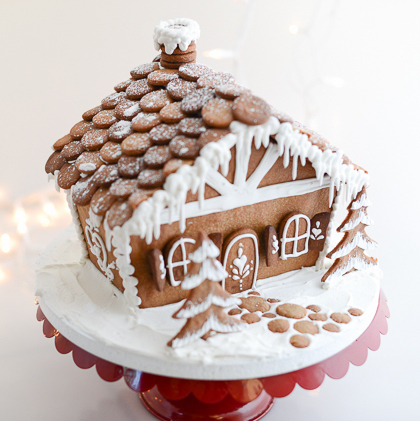 DIY Christmas Gifts: gingerbread houses