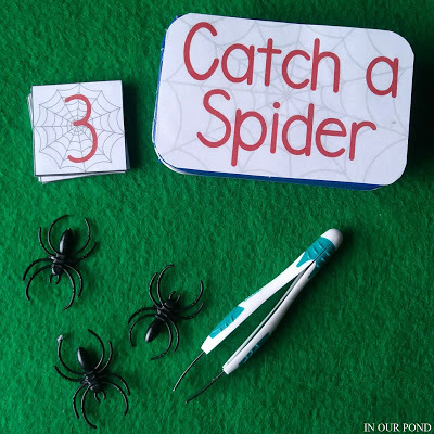 DIY Christmas Gifts: catch a spider travel game