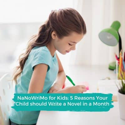NaNoWriMo: why your kids should write a novel in a month