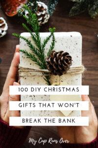 100 diy gifts, a handmade Christmas gift guide