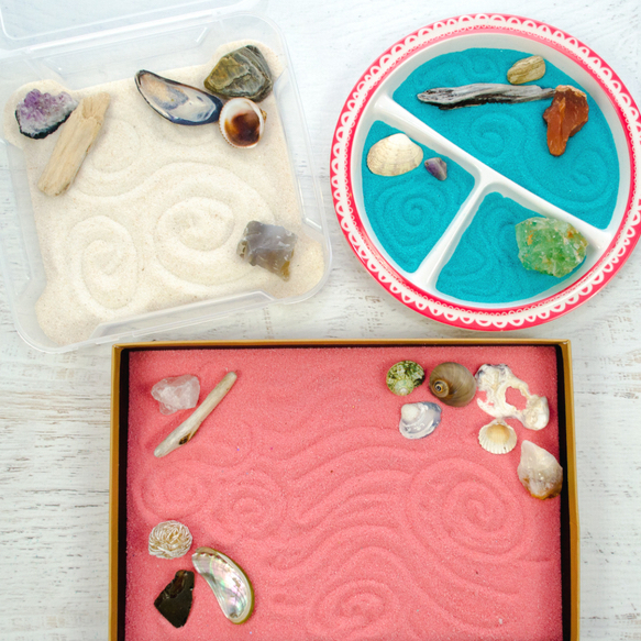 DIY Christmas Gifts: zen gardens