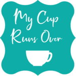 a stylized version of My Cup Run's Over's logo