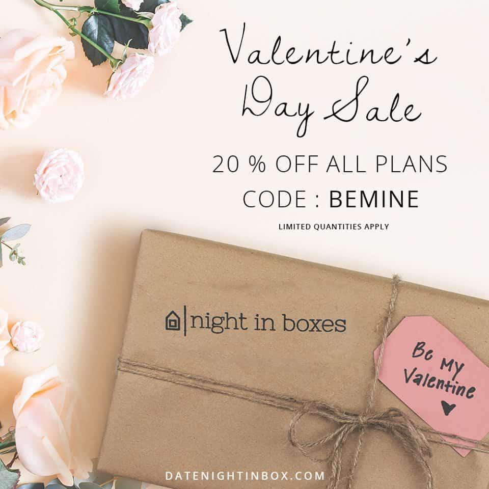 February Date Night In Box sale