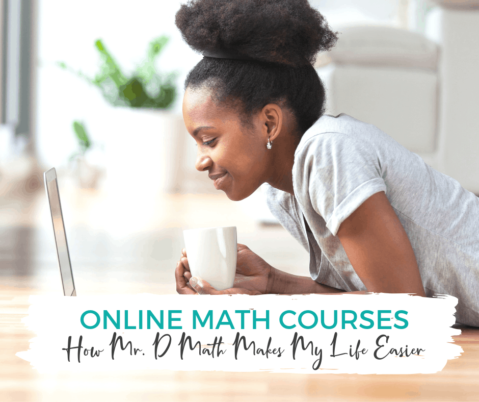 Online math courses from Mr D