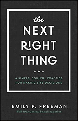 2019 Summer Reading list Giveaway The Next Right Thing