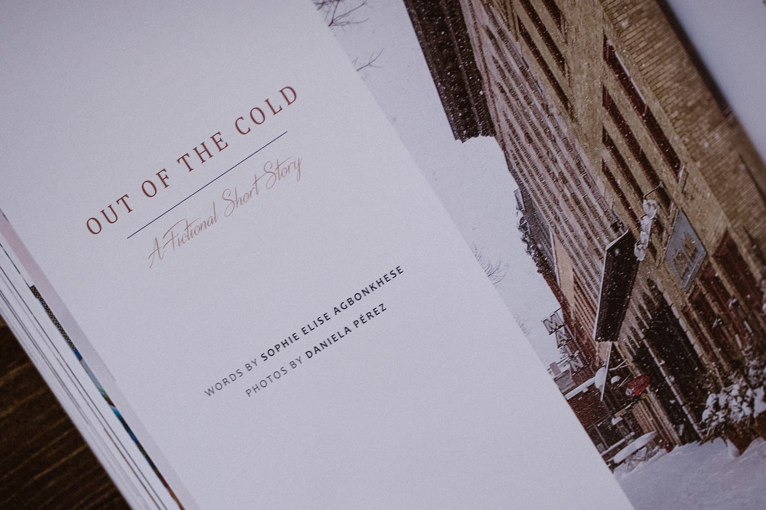 Joyful Life Magazine Treasure Issue - Out of the Cold